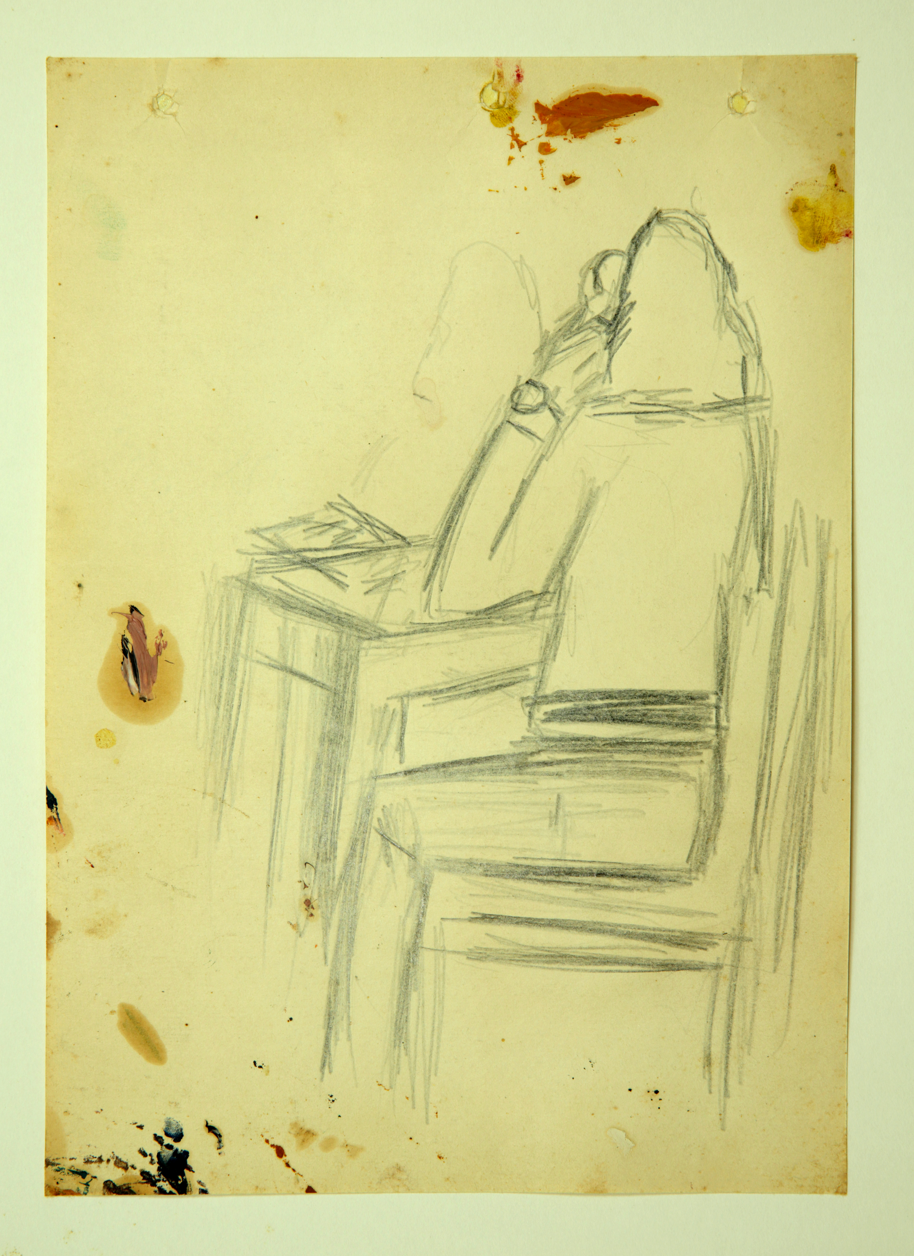 Woman at the table